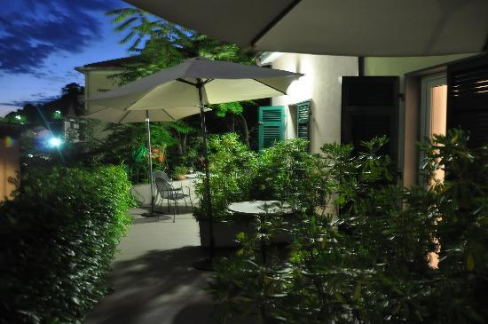 Locanda del Sole: Private terrace for every room