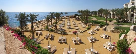 Stella Di Mare Beach Hotel & Spa : Overlooking the private beach