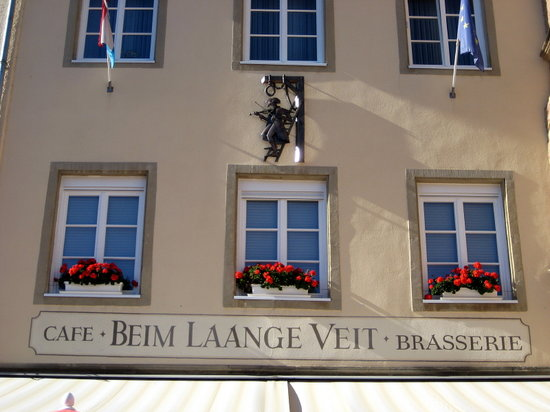 Echternach, Luxembourg: Aussenansicht