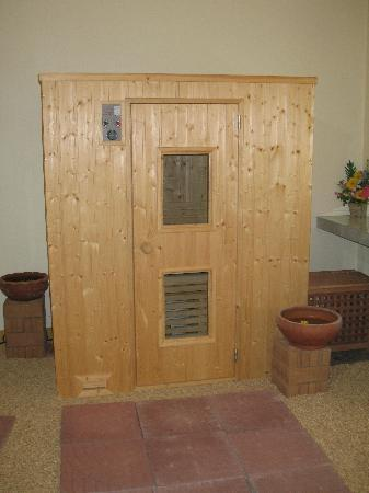 Sasimantra Spa: Steam Sauna for cleaning the skin
