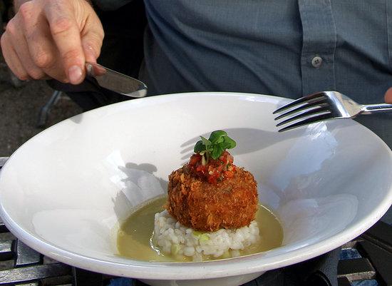 The White House Restaurant : My Fish Cake
