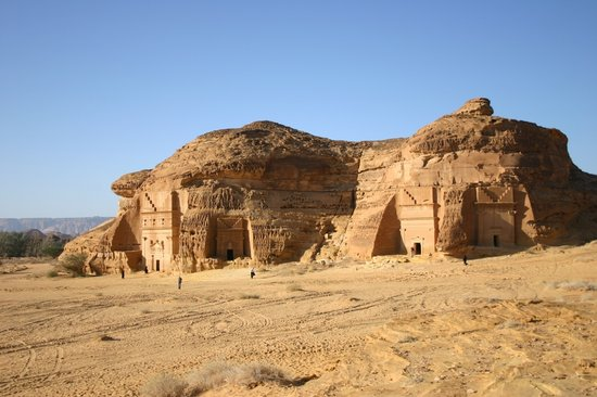 Madain Saleh Tombs : Gräber in Madain Saleh