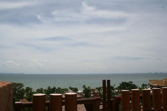 Centara Grand Mirage Beach Resort : View from our balcony