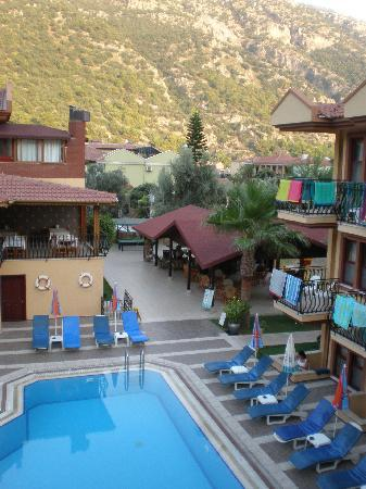 Belcehan Beach Hotel: View from room 303