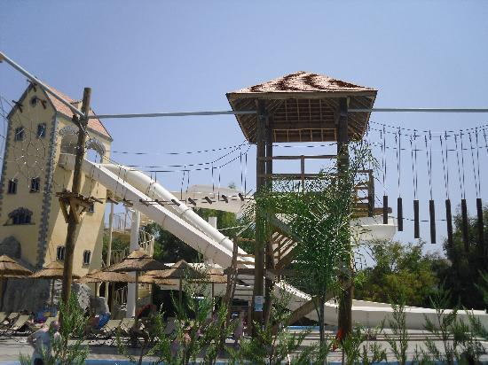Holiday Village Rhodes: The High ropes