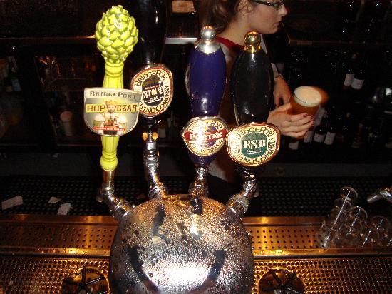Bridgeport Brewery and Brewpub : Happy WATER CHILLED TAPS, Exclusive to Bridgeport Brewery