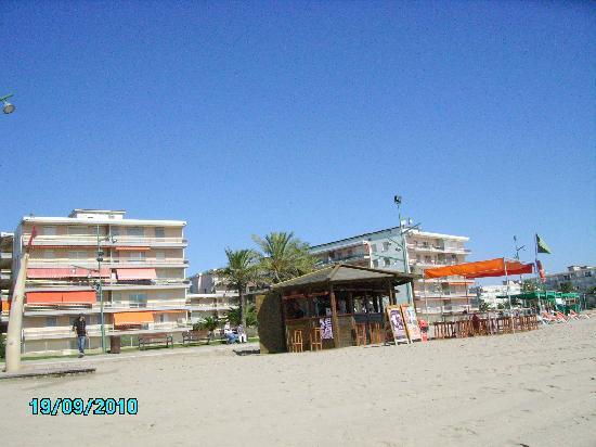 Hotel Best Terramarina : la plage
