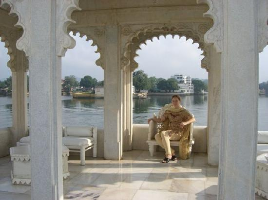 Taj Lake Palace Udaipur: Roof-Terracce