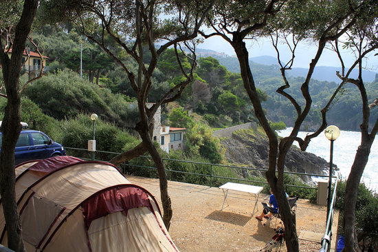 Camping Maralunga: Other emplacement close to the beach