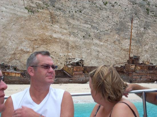 Tsilivi, Greece: A view of smugglers cove