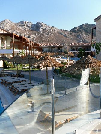Holiday Village Rhodes : 2 storey accommodation, activity side