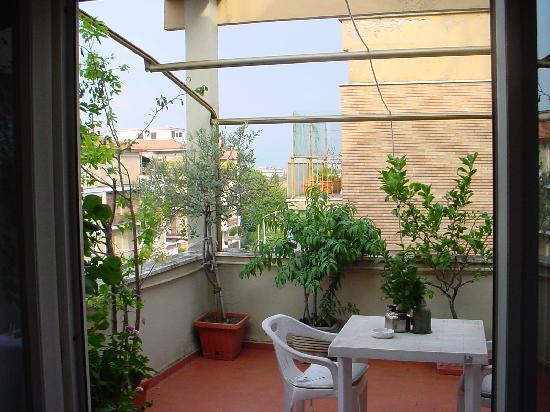 Alla Balduina : Our private terrace