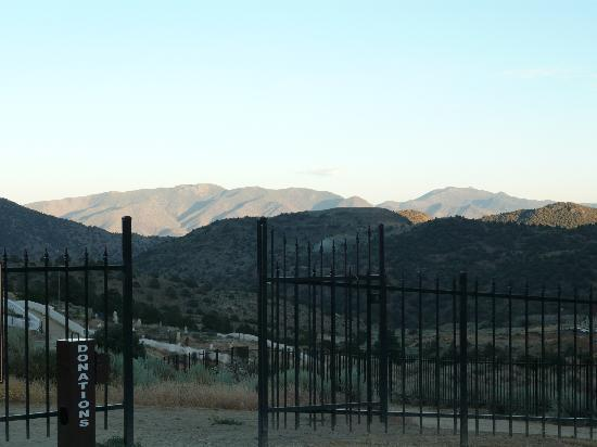 Virginia City, NV: Cemetary on the hill