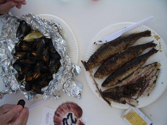 Le P'tit Bleu : Moules & sardines