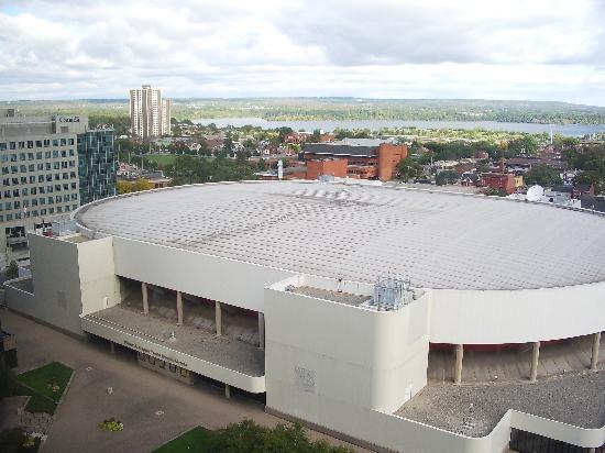 Sheraton Hamilton Hotel: Copps Coliseum