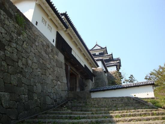 Komine Castle Remains : 下から