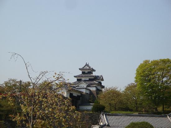 Komine Castle Remains : 公園から