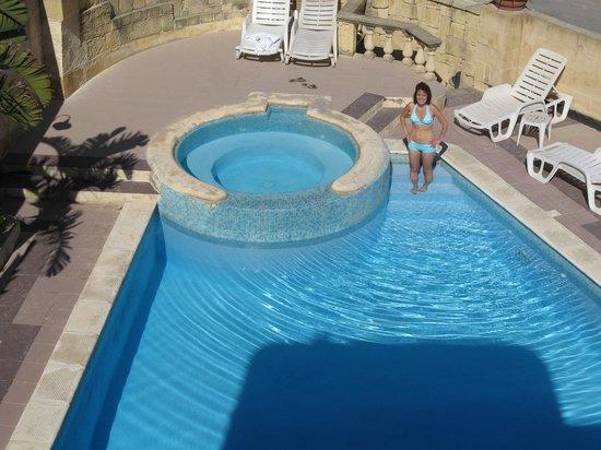 Villa Bronja: villa pool