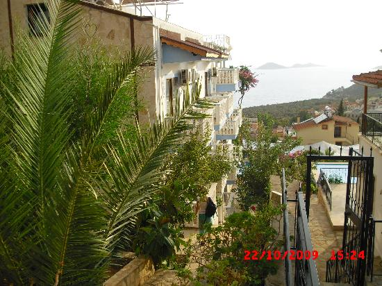 Kelebek Hotel: rear hotel