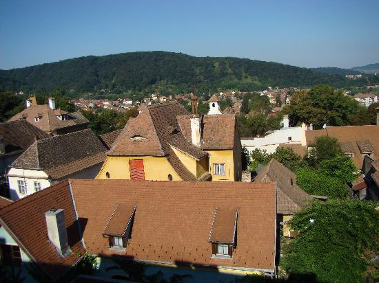 Hotel Sighisoara: view from room