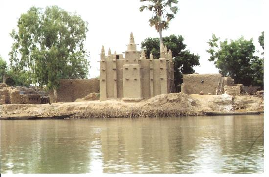 Μάλι: A Mosque off the River Niger