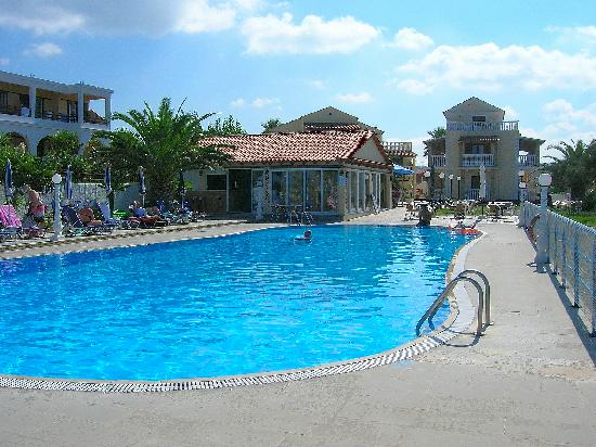 Vicky Pool And Bar Picture Of Vicky Apartments Corfu