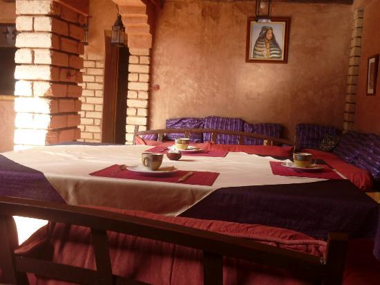 Kasbah Tiwaline: coin repas