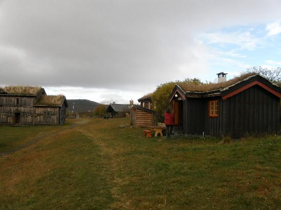 Hovringen, Norge: cabins of the hotel