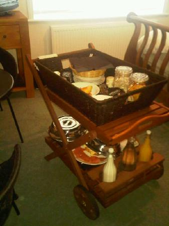 Whitstable Bay Bed and Breakfast : breakfast
