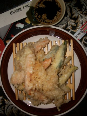 Shogun: Vegetable tempura