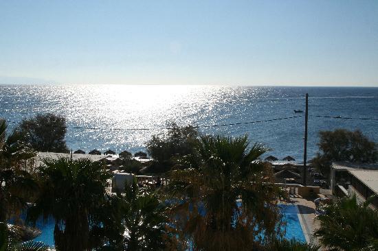 Kamari Beach Hotel: View