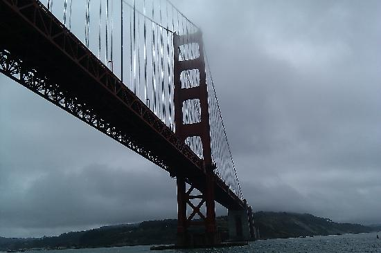 San Francisco, CA: Under the Golden Gate Bridge