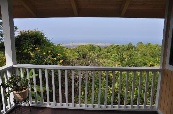 Hale Hualalai Bed and Breakfast: From the Lanai