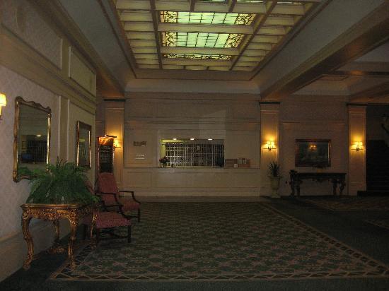 Astor Hotel: The lobby