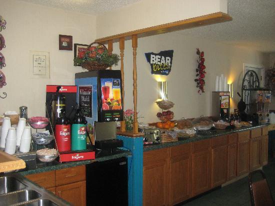 Travelodge Perry GA: Breakfast Room