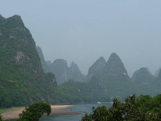 Yangshuo County, China: Li river Hike
