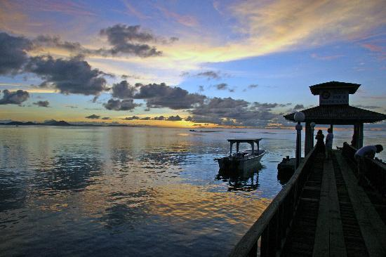 Truk Stop Hotel: End of the Dock---Sunset