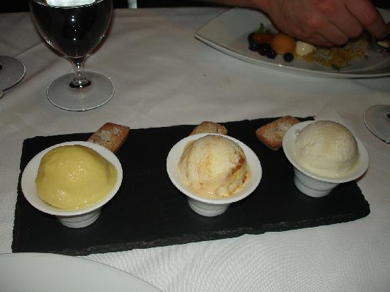 Salts: A trio of homemade ice creams