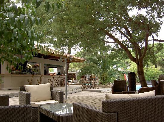 Kilina Hotel : La terrasse