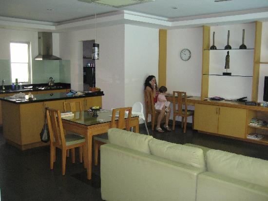 Bali Island Villas & Spa: Living Area