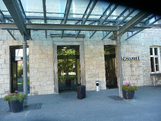 Novotel Hildesheim: Eingang