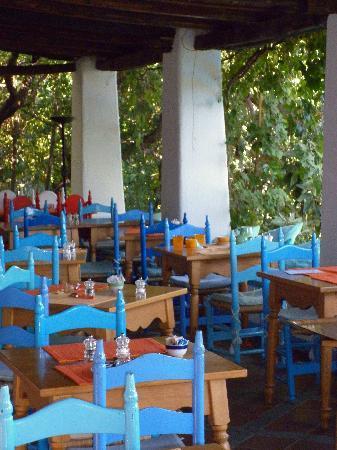 Oliena, Italien: terrazza colazione