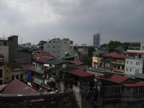 Quang Hiep Hotel: Balcony View