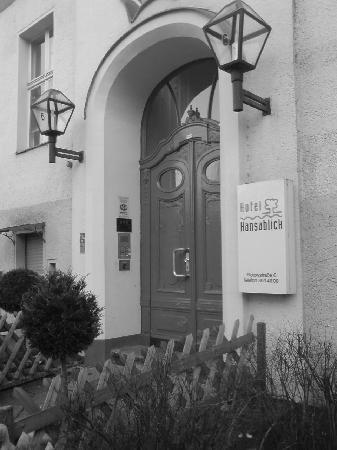 Hotel Hansablick Garni : Hotel Eingang