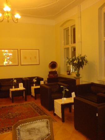 Hotel Hansablick Garni: Hotel Lounge