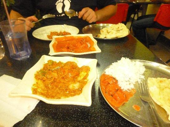 Tanah Rata, Malaysia: Food here