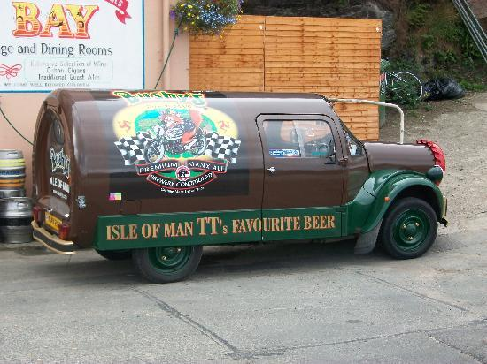 The Bay Hotel: The delivery van