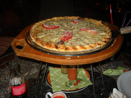 Botako : pizza parma with extra parmezan