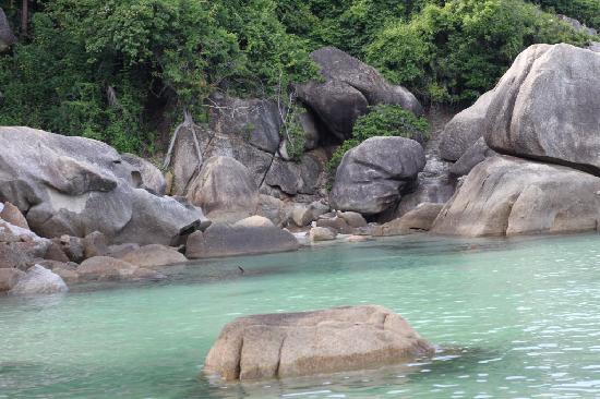 Thong Takhian Beach (Silver Beach): Das Wasser