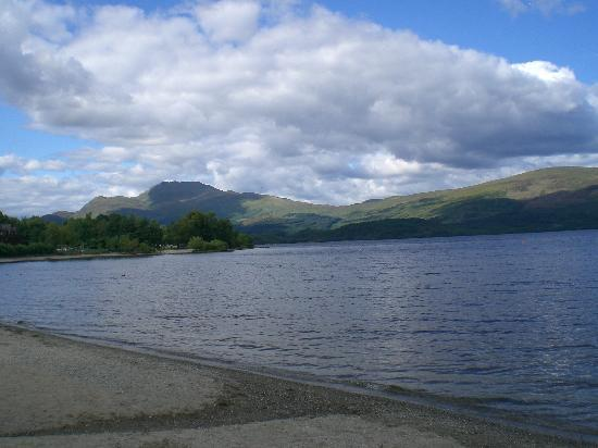 Cloudside Bed & Breakfast: LUSS Spiaggia del Loch Lomond